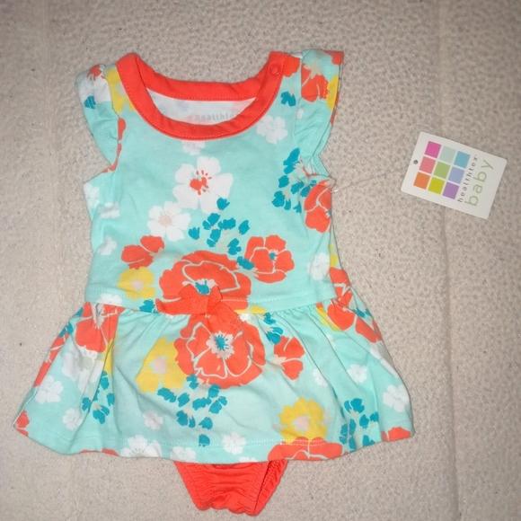 Healthtex Baby Girl Floral Sun Dress Set